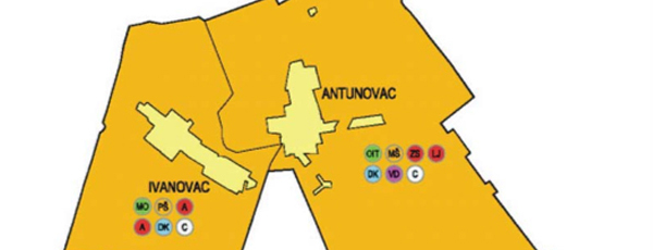 Prostorni plan općine Antunovac